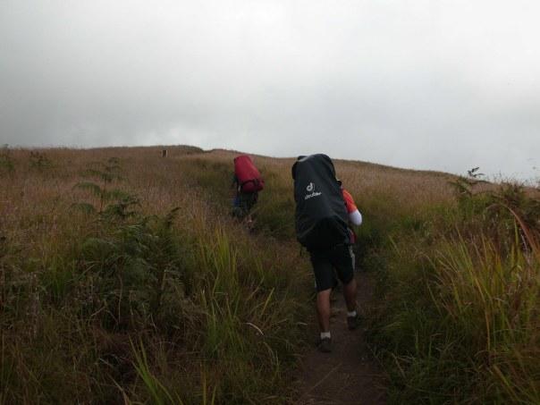 Trekking gunung Rinjani Lombok