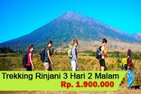 Trekking Mt.Rinjani 3H2M - Sembalun Lombok