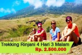 Trekking Mt.Rinjani 4H3M